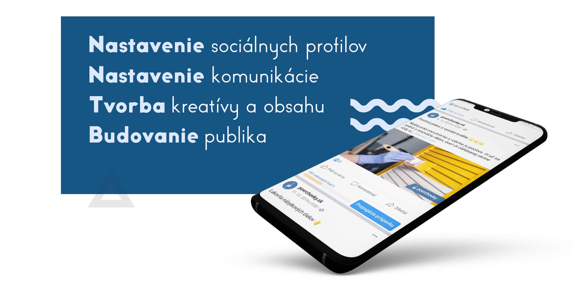 Správa sociálnych sietí pre remeselníkov marketingová agentúra