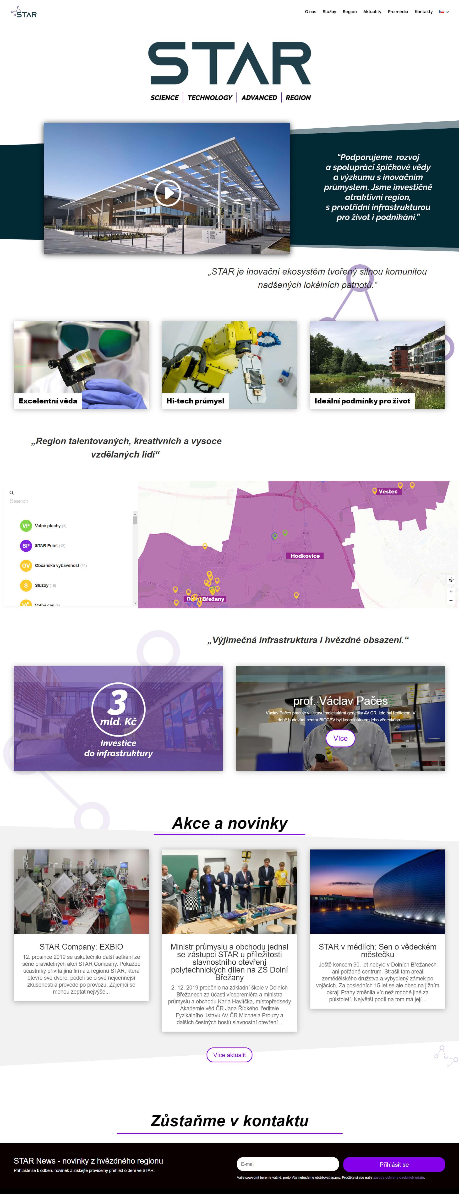 Tvorba webstránky a dizajn na mieru s interaktívnou mapa