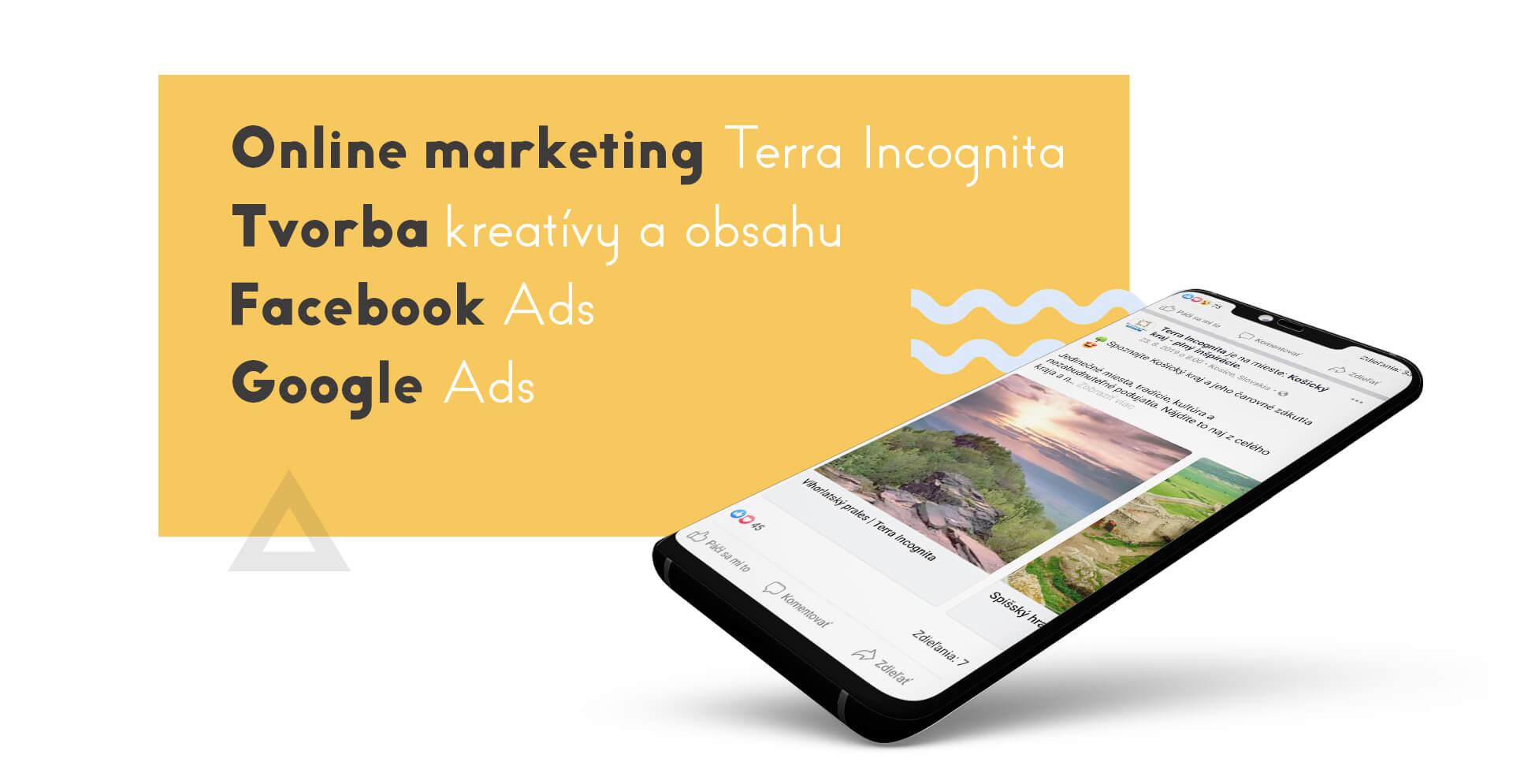 Marketing sociálnych sietí turizmus Terra Incognita