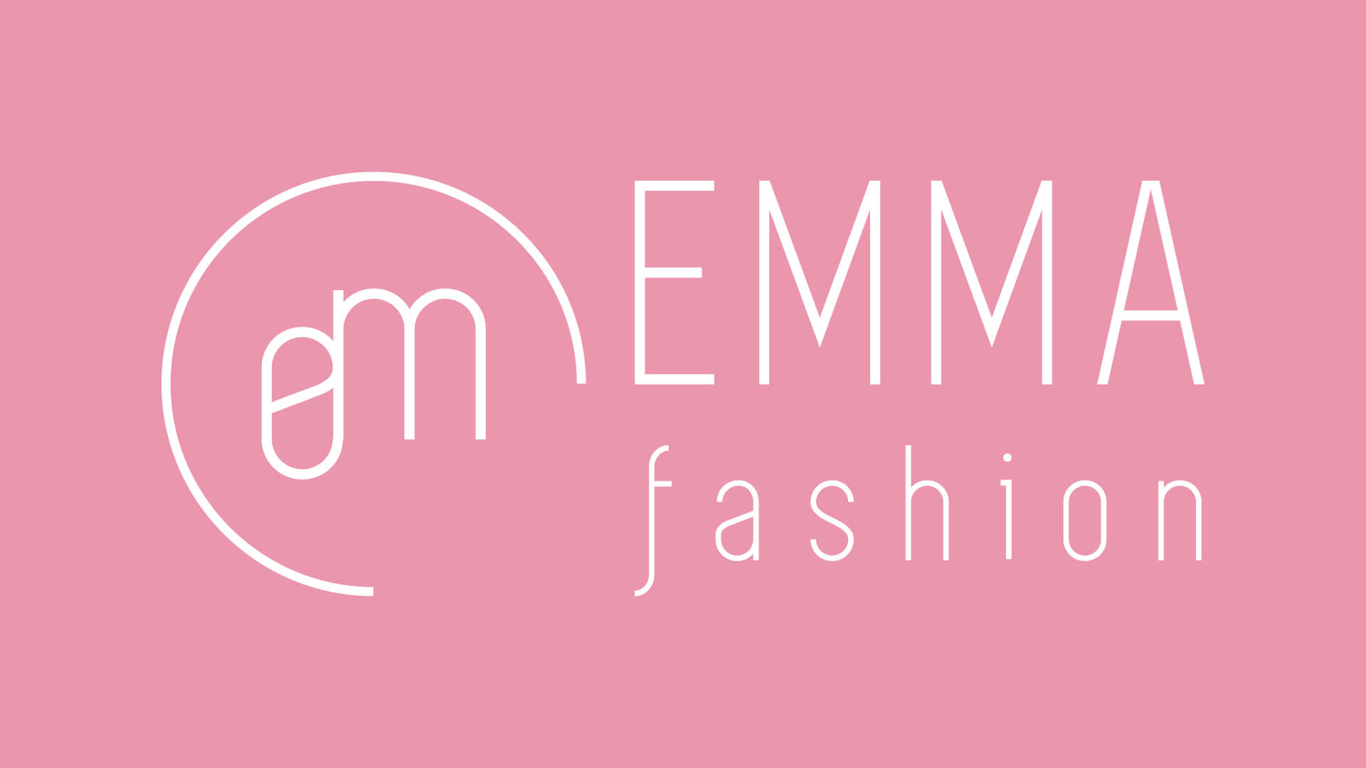 Moderné logo pre módnu značku