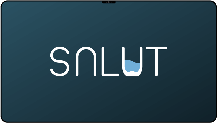 Vytvorenie loga pre startup SALUT