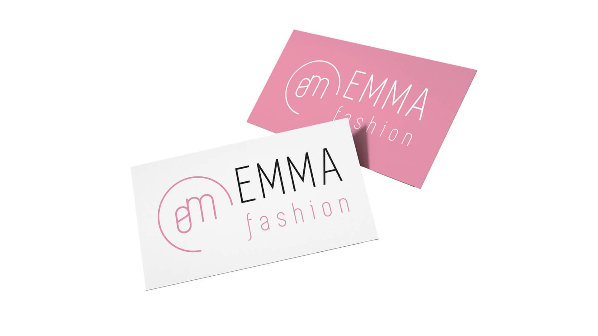 Dizajn moderného loga pre značku moderného oblečenie a butikov