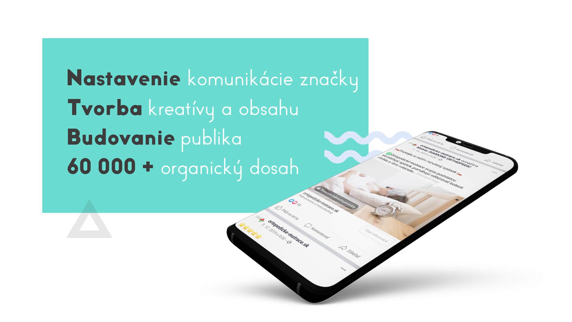 Tvorba obsahu pre sociálne siete ortopedické matrace marketingová agentúra