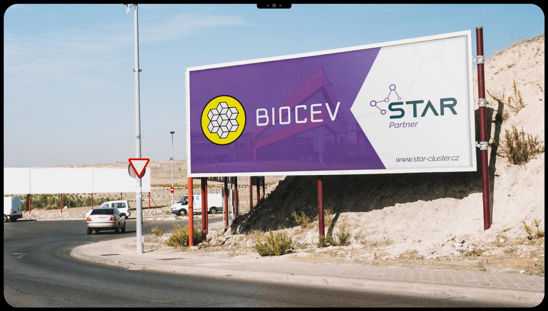 Dizajn billboardu pre premyselný park - outdoorová reklama