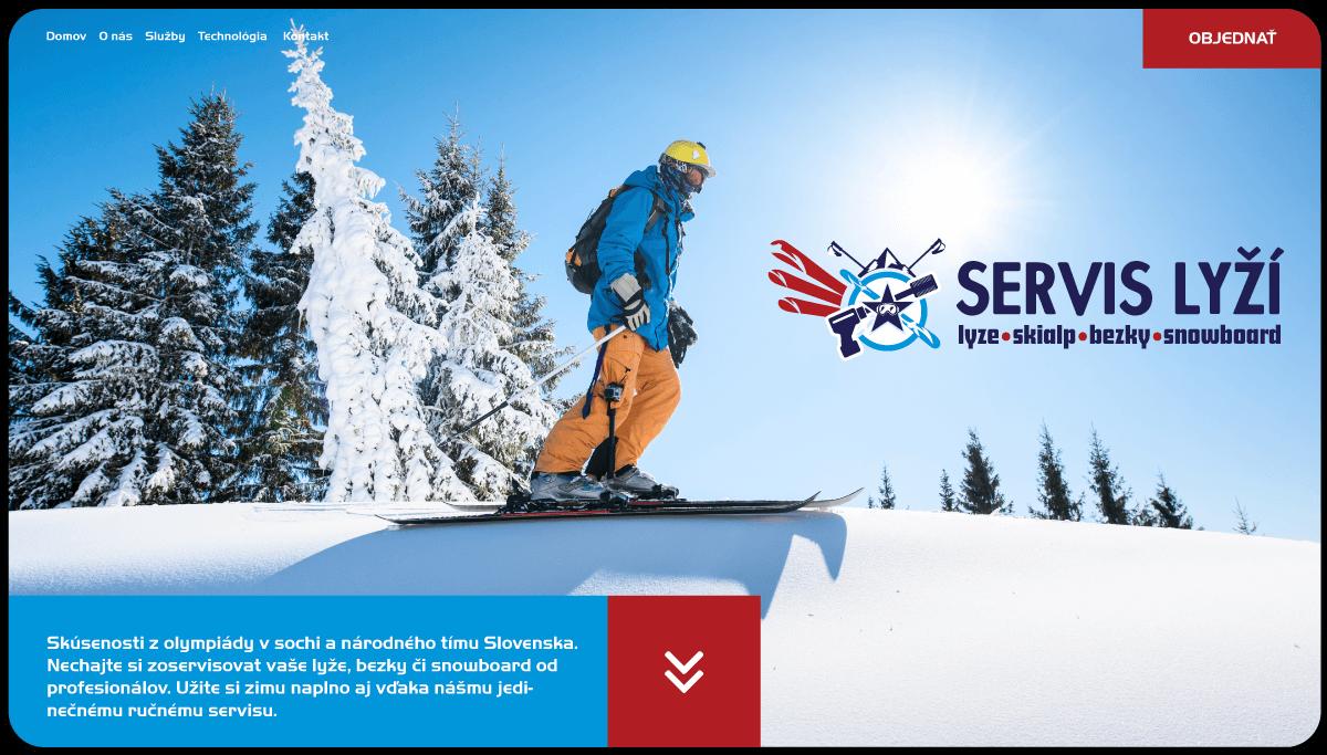 Tvorba webstránky a rezervačného systému pre servis lyží