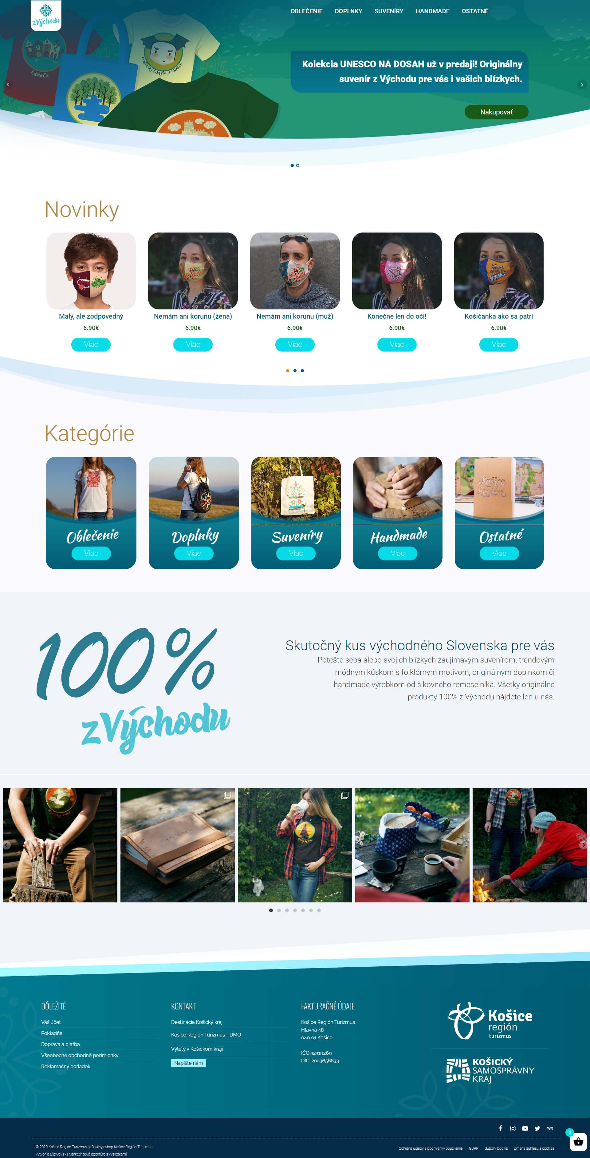 Tvorba E-shopu pre produkty z Východu