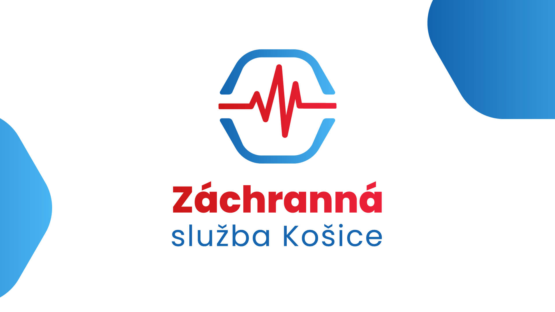 Dizajn loga a vizuálnej identity pre záchrannú službu Košice