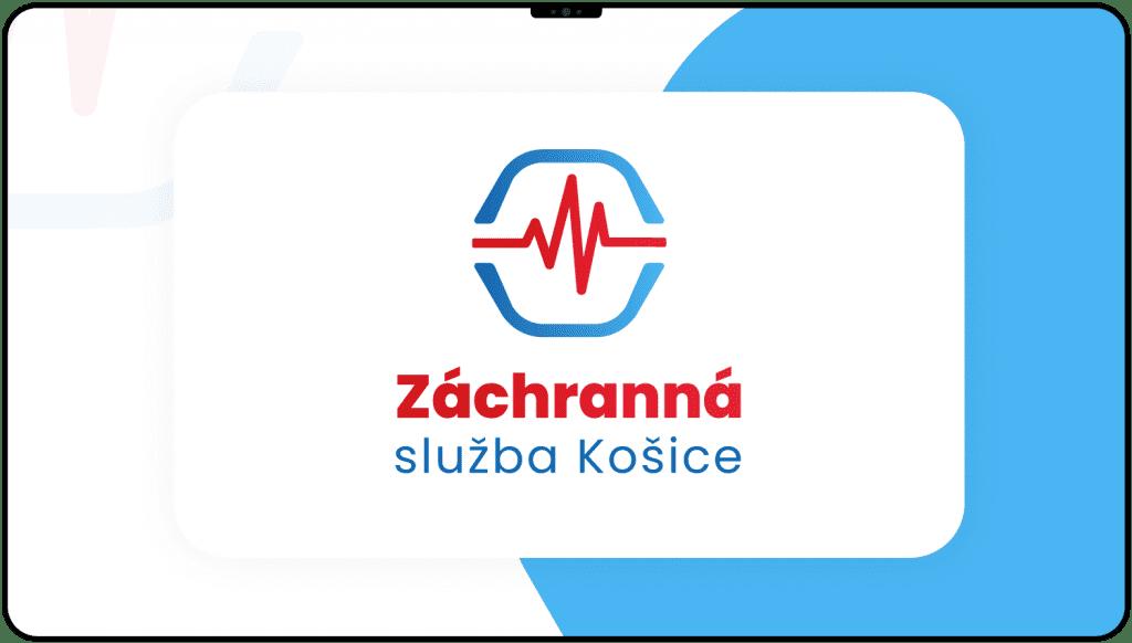 Tvorba loga a vizuálnej identity pre záchrannú službu Košice