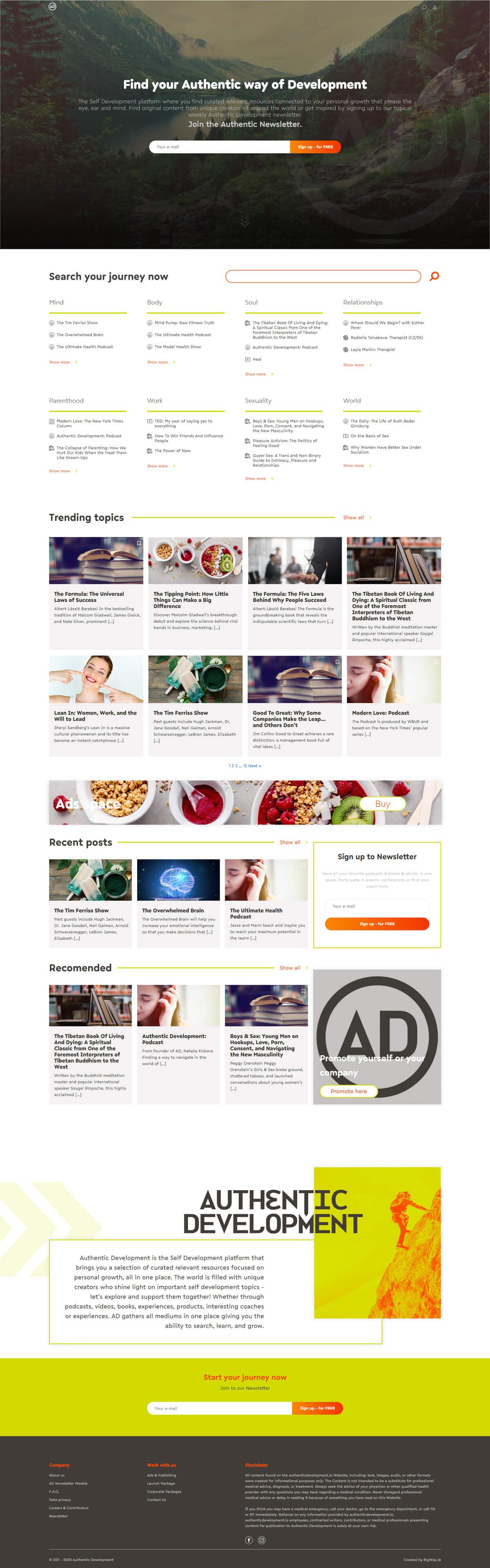 Tvorba webstránky a blogu o sebarozvoji