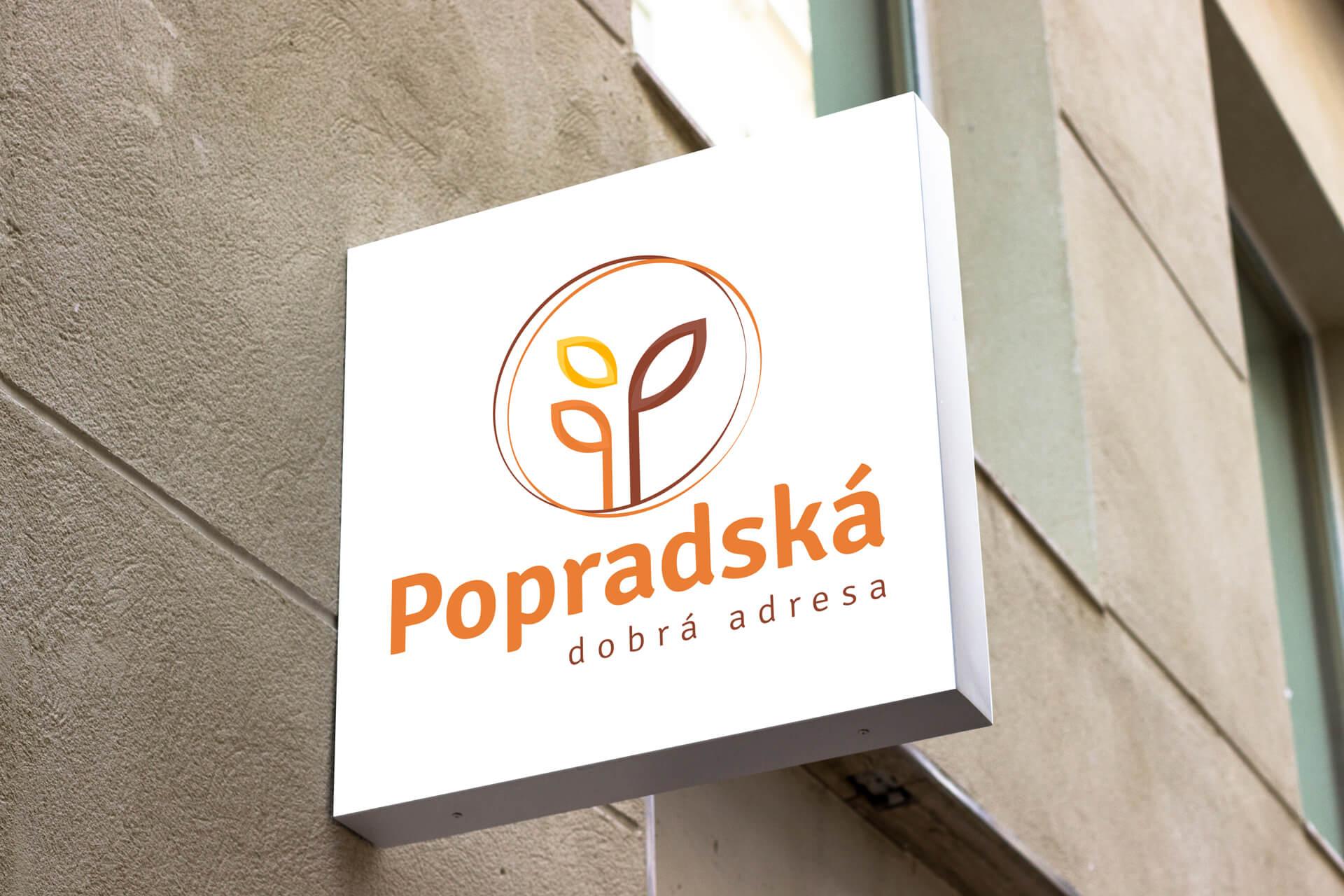 Tvorba loga a vizuálnej identiy pre developérsky projekt Metrostav Slovakia
