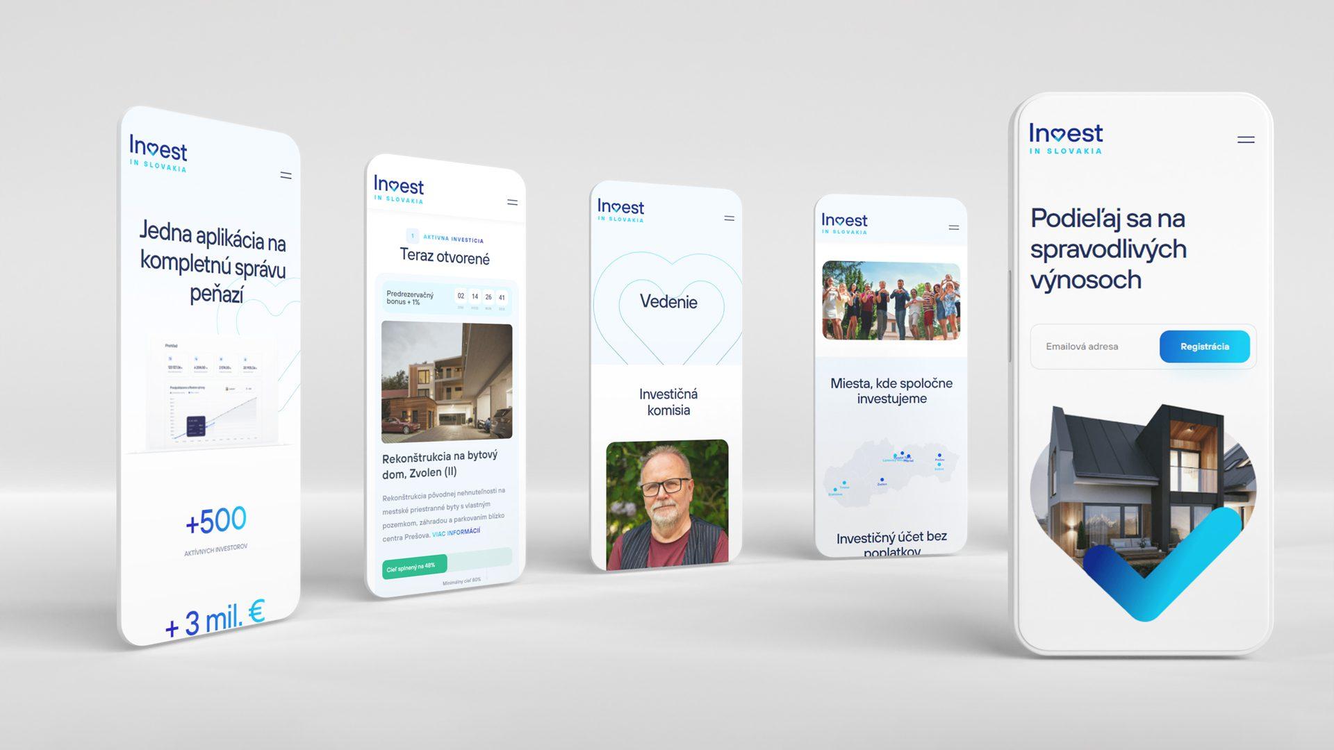 Tvorba moderného webu pre slovenský Fintech