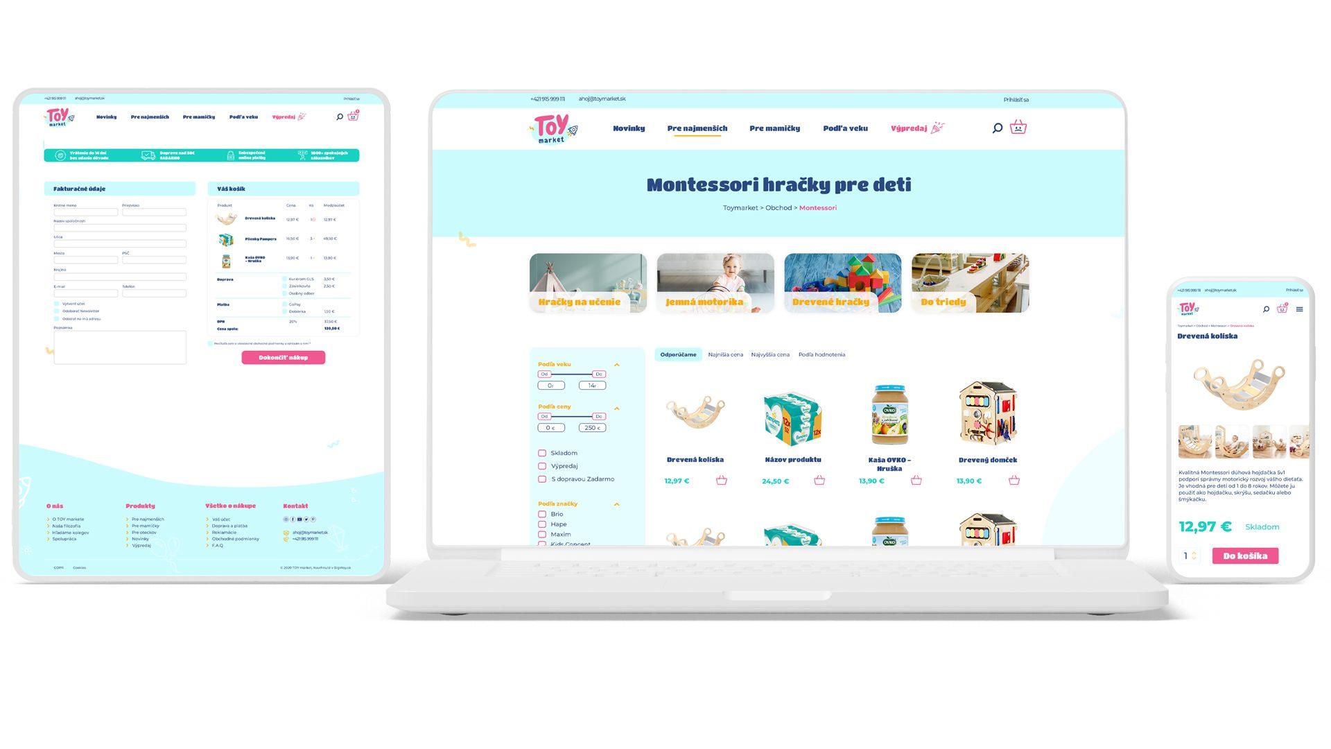 UX dizajn nákupného procesu pre moderný E-shop