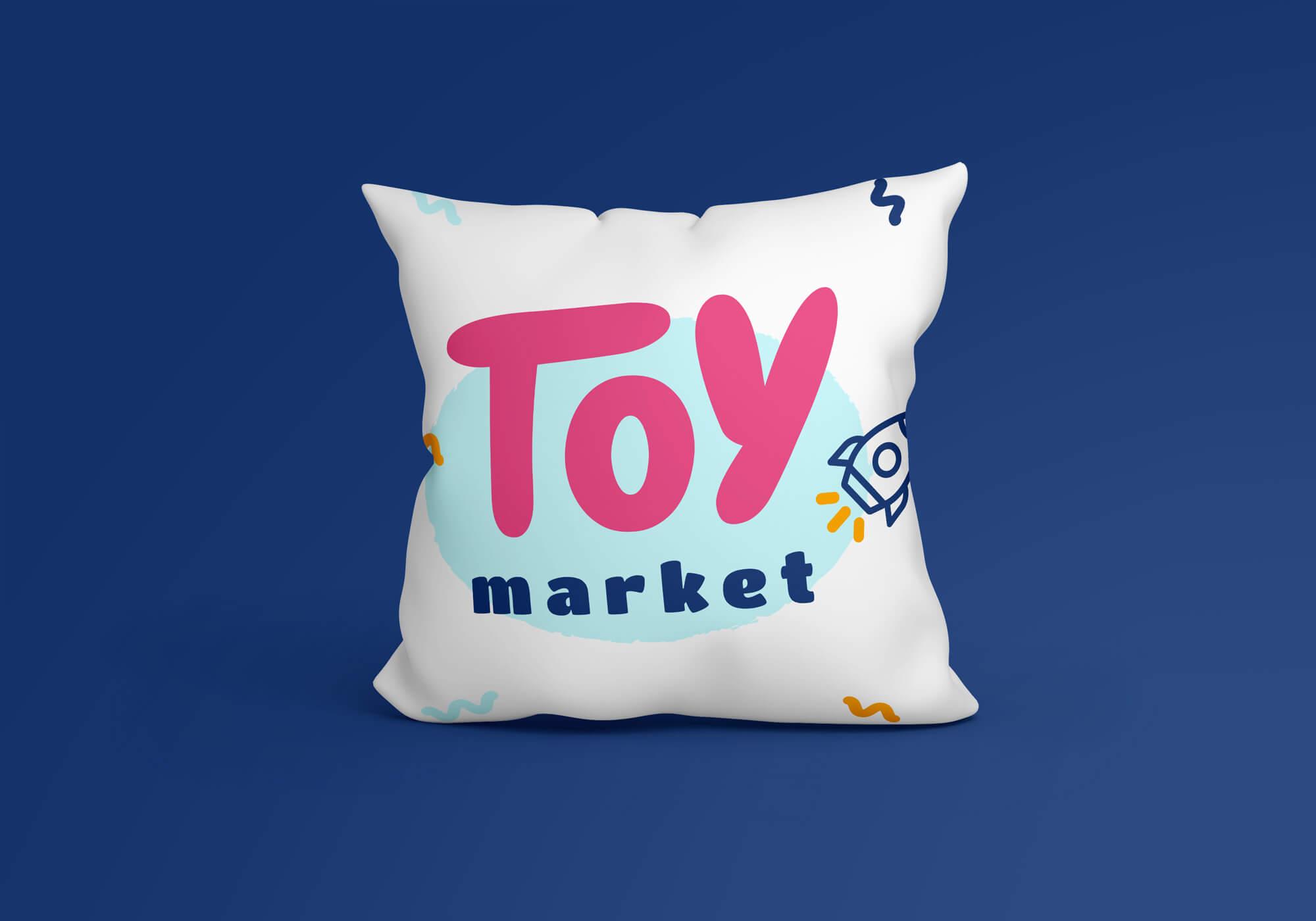 Moderné logo pre detský tovar hračiek